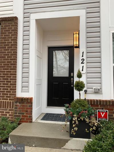 Annapolis Townhouse For Sale: 121 Lejeune Way