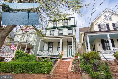 Annapolis Single Family Home For Sale: 91 Market Street