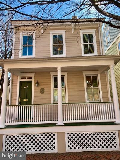 Annapolis Single Family Home For Sale: 144 Market Street