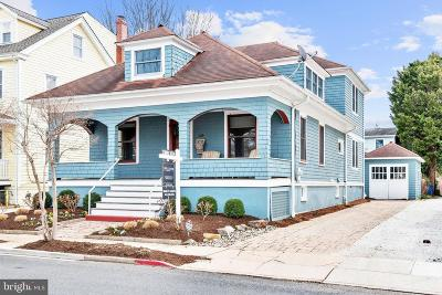 Annapolis Single Family Home For Sale: 313 Chesapeake Avenue