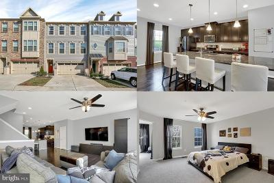 Jessup Townhouse For Sale: 7859 Rappaport Drive