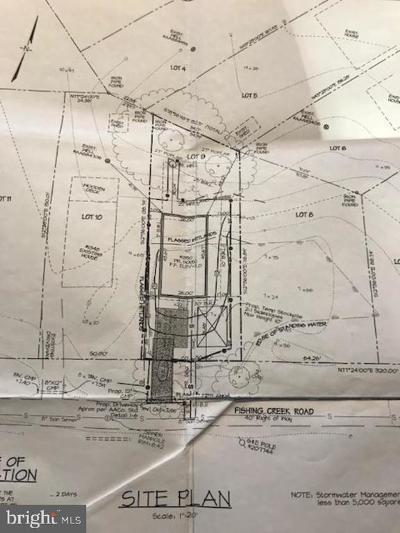 Anne Arundel County Residential Lots & Land For Sale: 1350 Fishing Creek Road