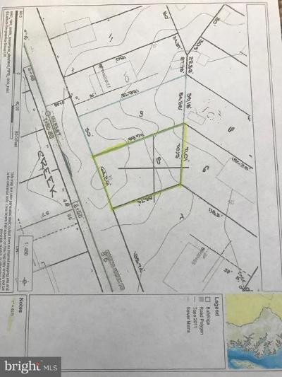 Anne Arundel County Residential Lots & Land For Sale: 1352 Fishing Creek Road