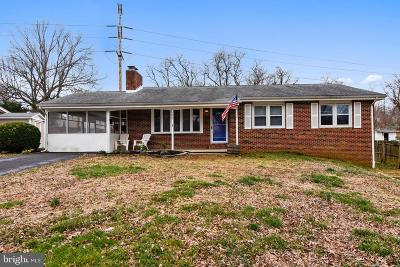 Annapolis Single Family Home For Sale: 1607 Cedar Park Road