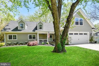 Annapolis Single Family Home For Sale: 509 Hillsmere Drive
