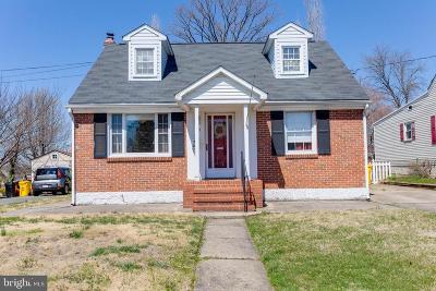 Glen Burnie Single Family Home For Sale: 24 Birch Avenue