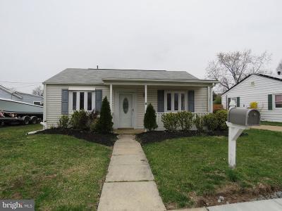 Glen Burnie Single Family Home For Sale: 1017 Thomas Road