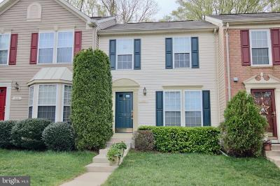 Anne Arundel County Townhouse For Sale: 931 Deerberry Court