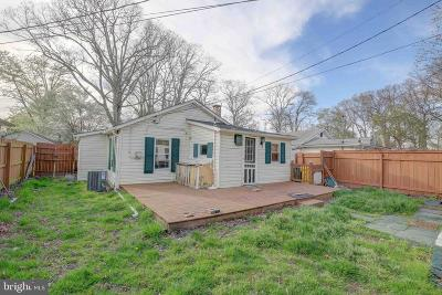 Shady Side Single Family Home For Sale: 4717 Frederick Avenue