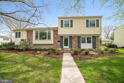 Annapolis Single Family Home For Sale: 1212 Van Buren Drive