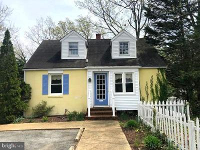 Annapolis Single Family Home For Sale: 1161 Spa Road