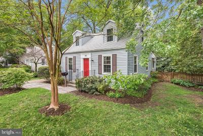 Annapolis Single Family Home For Sale: 1109 Van Buren Street