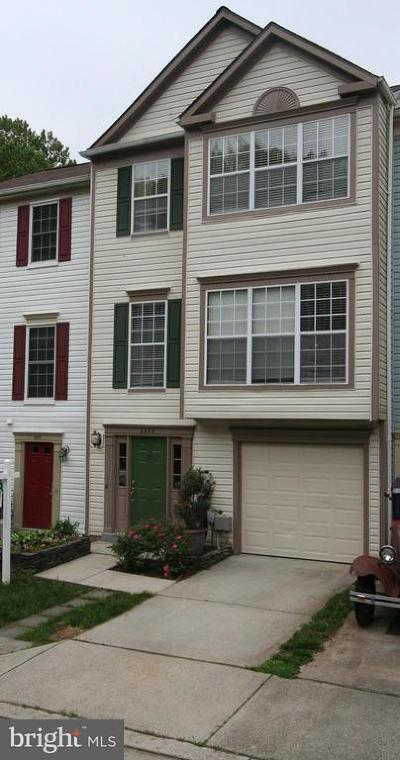 Crofton Townhouse For Sale: 2508 Assabet Court