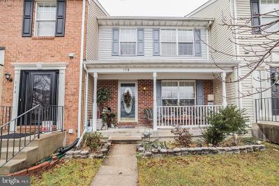 Odenton Townhouse For Sale: 158 Goldsborough Drive