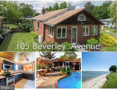 Edgewater, Mayo Single Family Home For Sale: 105 Beverley Avenue