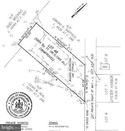 Anne Arundel County Residential Lots & Land For Sale: 1222 Cross Road