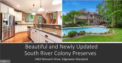 Edgewater Single Family Home For Sale: 3462 Monarch Drive
