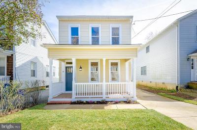 Annapolis Single Family Home For Sale: 16 Woodlawn Avenue