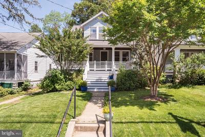 Annapolis Single Family Home For Sale: 20 Glen Avenue