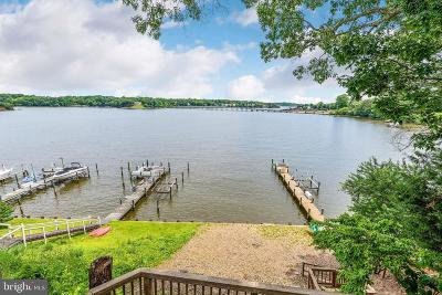 Davidsonville, Riva Single Family Home For Sale: 42 Shore Walk Road