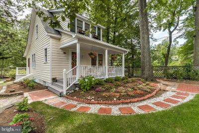 Annapolis Single Family Home For Sale: 168 Acton Road