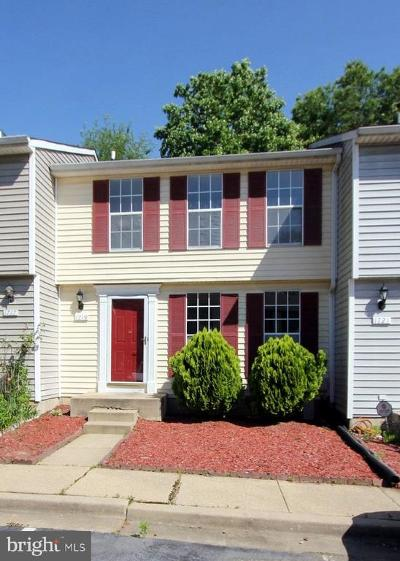 Severn Townhouse For Sale: 1719 Jacobs Meadow Drive