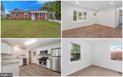 Glen Burnie Single Family Home For Sale: 1207 Kenwood Road