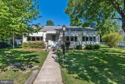 Glen Burnie Single Family Home For Sale: 814 Castle Road