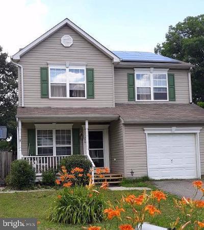 Glen Burnie Single Family Home For Sale: 206 Baltimore Avenue SW