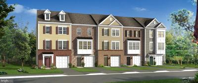 Glen Burnie Townhouse For Sale: Gunther Place #HOMESITE