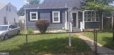 Baltimore Single Family Home For Sale: 286 Hillside Terrace