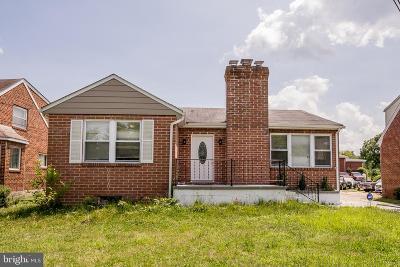 Glen Burnie Single Family Home For Sale: 105 Arundel Corporation Road