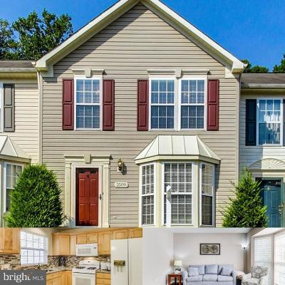 Odenton Townhouse For Sale: 2509 Black Oak Way
