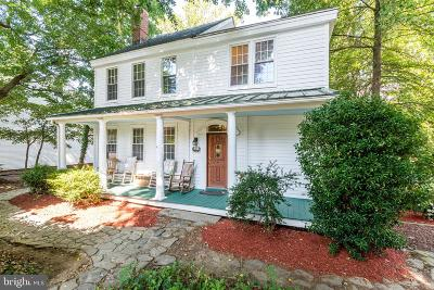 Davidsonville Single Family Home For Sale: 844 W Central Avenue