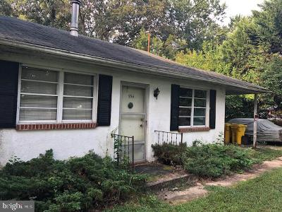 Pasadena Single Family Home For Sale: 554 Sunset Knoll Road