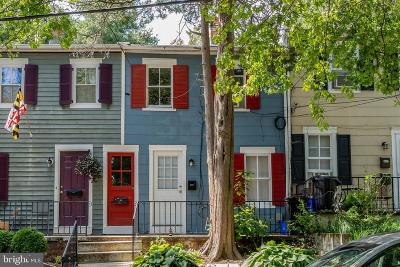 Annapolis Townhouse For Sale: 27 Dean Street