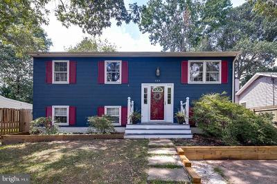 Severna Park Single Family Home For Sale: 610 Park Road