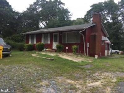 Glen Burnie Single Family Home Active Under Contract: 7608 W B & A Road