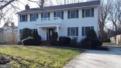 Annapolis Single Family Home For Sale: 510 Duvall Lane