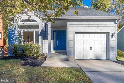 Annapolis Single Family Home For Sale: 67 Windwhisper Lane