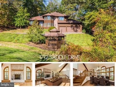 Gambrills Single Family Home For Sale: 1712 Saddle Drive