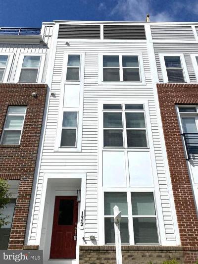 Annapolis Townhouse For Sale: 139 Lejeune Way