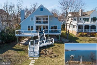 Annapolis Single Family Home Temporarily Off Market: 3811 Thomas Point Road
