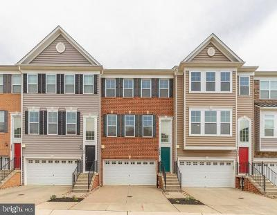 Gambrills Townhouse For Sale: 1366 Chapel Centre Drive