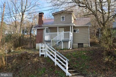 Cumberland MD Single Family Home For Sale: $54,900