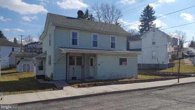 Frostburg Single Family Home For Sale: 16 Hill Street