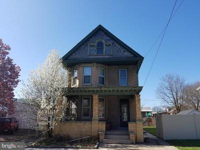 Cumberland Single Family Home For Sale: 508 Shriver Avenue