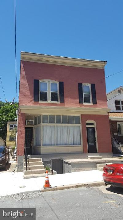 Cumberland MD Single Family Home For Sale: $145,000