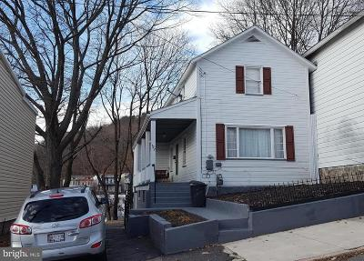 Cumberland MD Single Family Home For Sale: $38,900