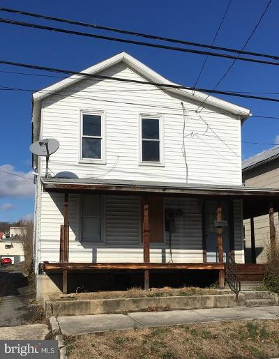 Cumberland MD Single Family Home For Auction: $10,000